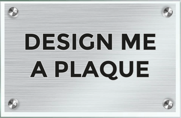 Laserart Custom Plaque Design Service